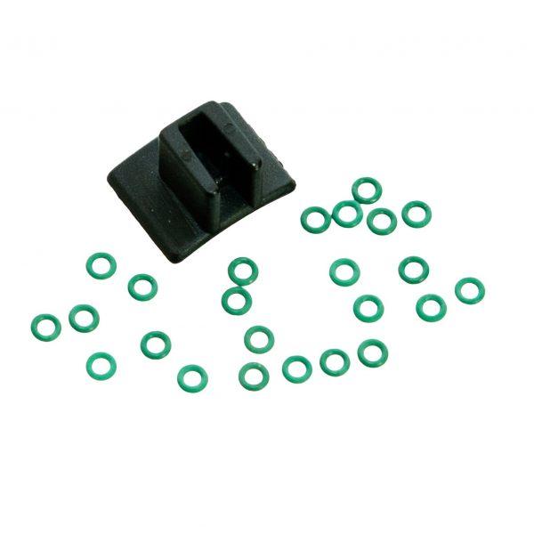 Transferpette V-rings, Multichannel, 10μL, 20μL, set of 24 (Newer Version) (BrandTech)