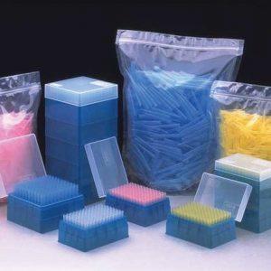 Nichiryo Tip Rack, 1000μL, Universal, Sterile, Blue, 10x100 tips, 1000 tips (Nichiryo)